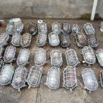 Schildkrötenlampe Bunkerlampe, oval
