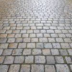 Natursteinpflaster gebraucht Granit Salz und Pfeffer Großpflaster Reihenfähig Katzenköpfe unterschiedliche Größen