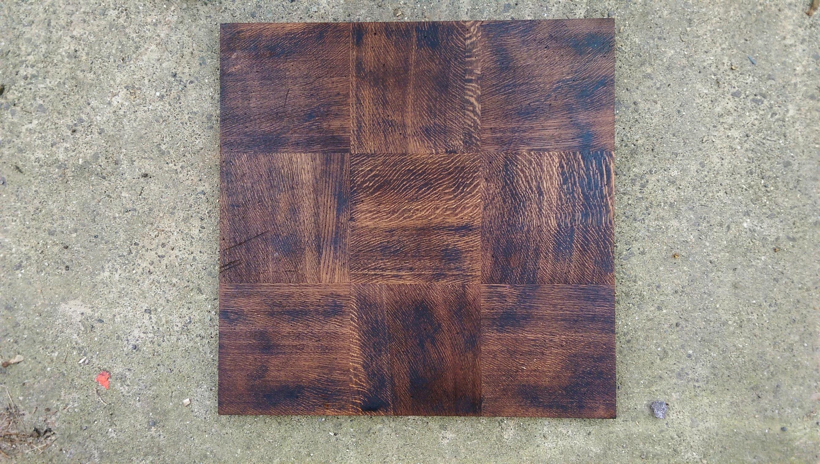 Eiche Tafelparkett 70,5 x 70,5 cm