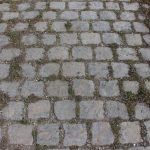 Pflastersteine anthrazit gebraucht, reihenfähig Großpflaster, Granitpflaster