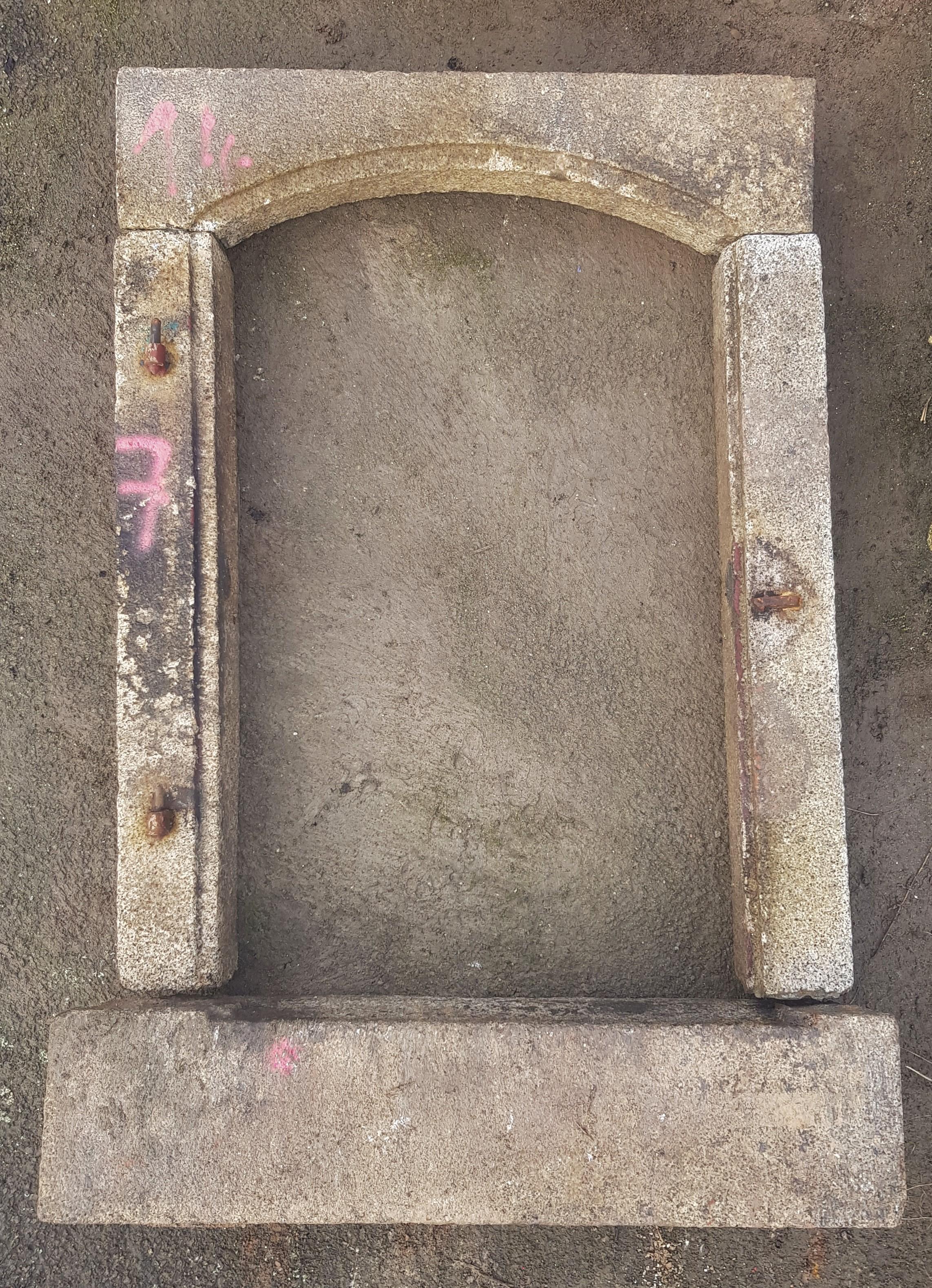 Fenstereinfassungen, Granit, historisch